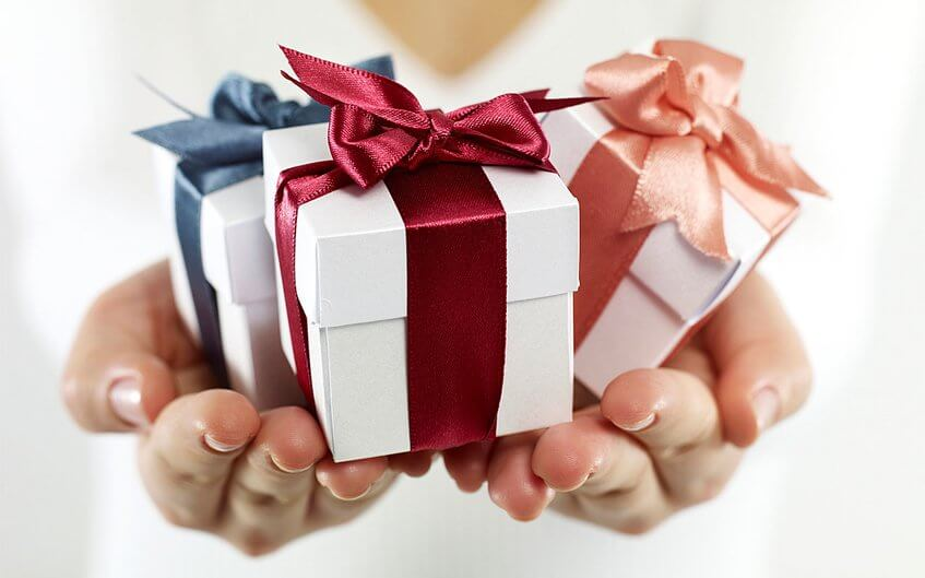 Подарок при бронировании