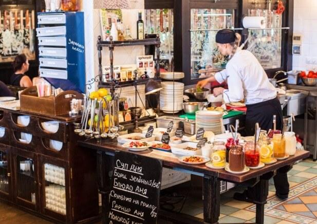 необычные кафе Одессы Компот