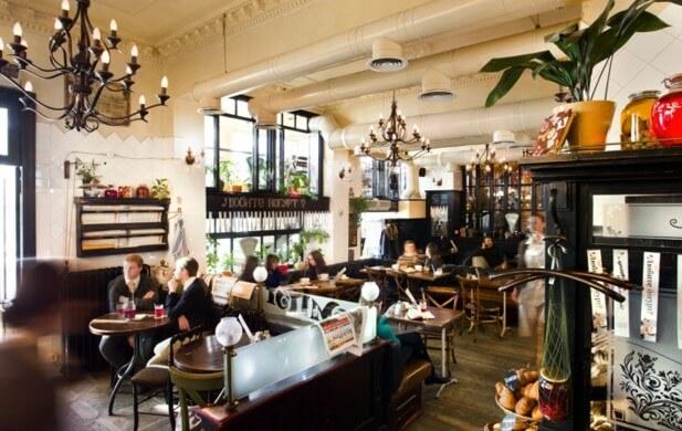 Компот в Одессе необычные кафе