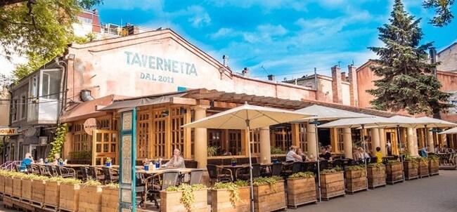 Нестандартное кафе Тавернетта в Одессе