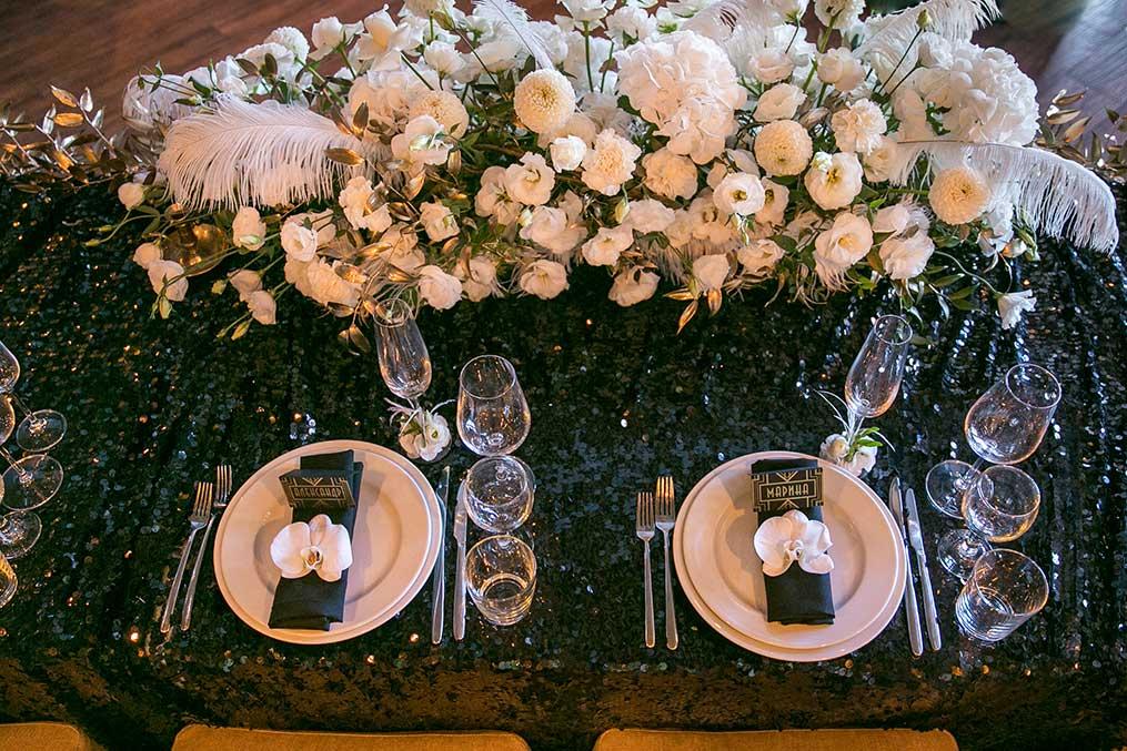 Декор свадебного стола, фото - Maristella