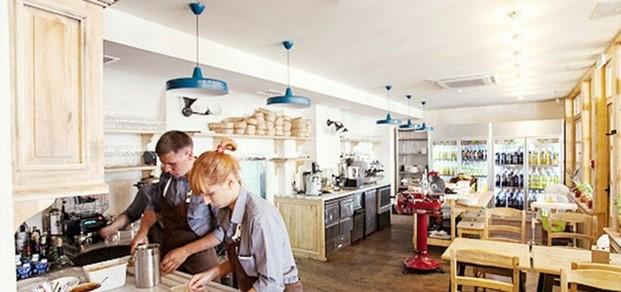 Кафе Тавернетта в Одессе очень необычно